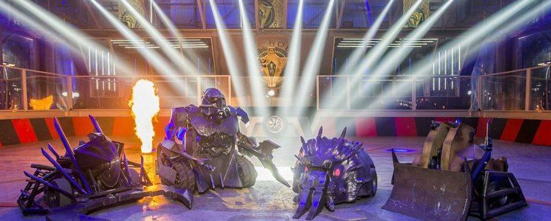 lucha de robots