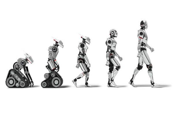 evolucion de los robots