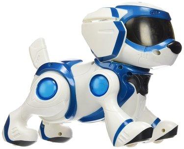perro robot teksta