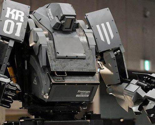 robots militares de combate