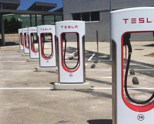 puntos de carga coche electrico