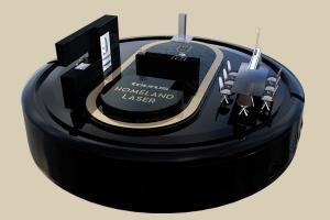 robot aspirador taurus homeland laser